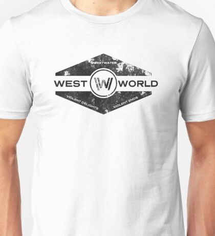 Westworld Retro Logo 3 Unisex T-Shirt
