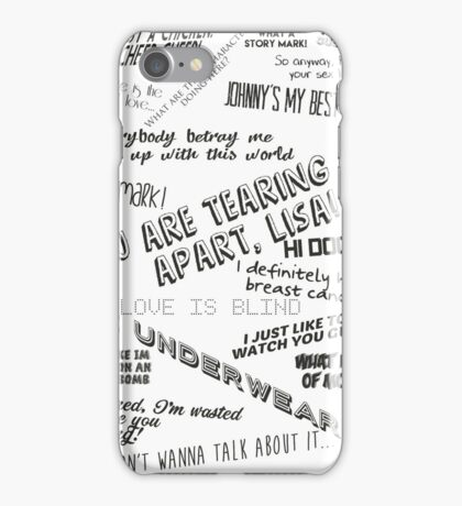 The Room: Quotes iPhone Case/Skin