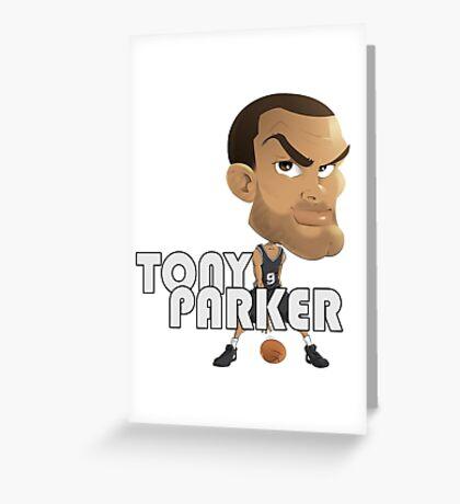 Tony Parker Greeting Card