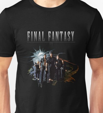 Final Fantasy XV Squad (Logo) Unisex T-Shirt