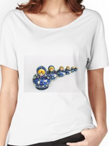 Babushka nesting dolls Women's Relaxed Fit T-Shirt