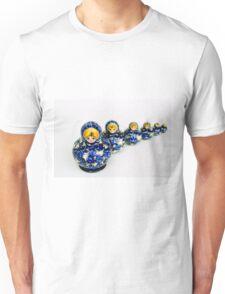 Babushka nesting dolls Unisex T-Shirt