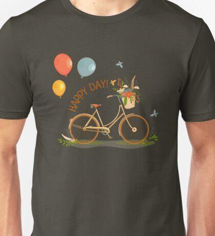 A walk on the bike Unisex T-Shirt