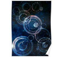 Gallifreyan Galaxy Poster