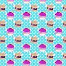 Angel Cupcake Burger Pattern by SaradaBoru