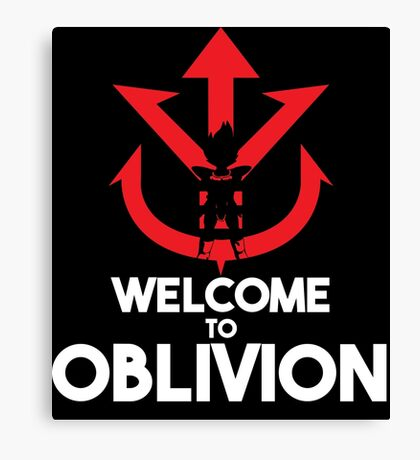 Welcome to Oblivion Canvas Print