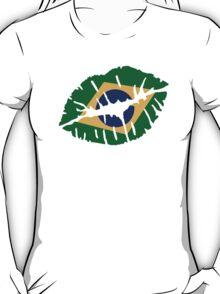 Brazil kiss lips T-Shirt