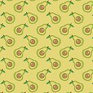 Avocado Slice Pattern by SaradaBoru