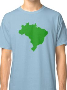 Brazil map Classic T-Shirt