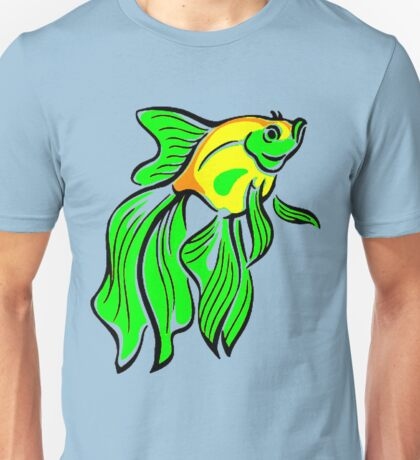 Veiltail Goldlfish Unisex T-Shirt