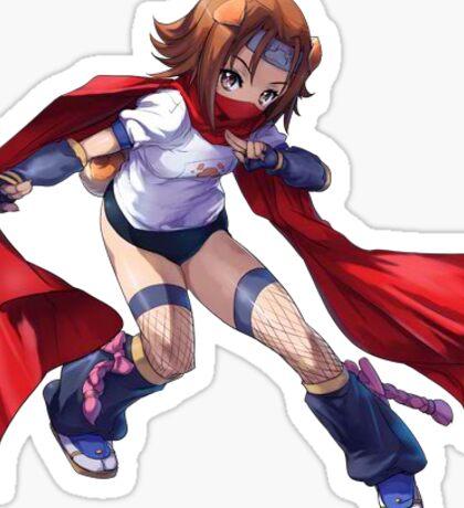 Arcana Heart - Konoha (このは) Sticker Sticker