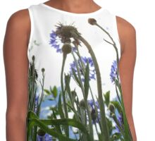 Purple Flowers Contrast Tank