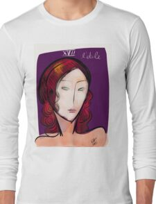 L'étoile figurative and pop portrait Long Sleeve T-Shirt
