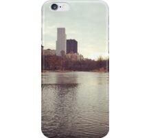 Harlem Meer, NYC iPhone Case/Skin
