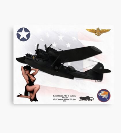 Consolidated PBY-5 Catalina Canvas Print