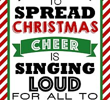 The Best Way to Spread Christmas Cheer! by ashden