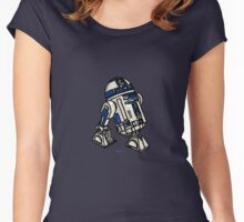 R2D2 Drawing Women's Fitted Scoop T-Shirt