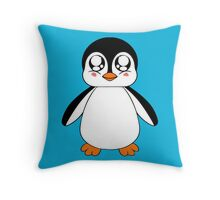 Adorable Penguin Throw Pillow