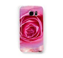 Pink Rose and Ribbon Samsung Galaxy Case/Skin