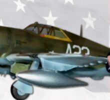 Sleepy Time Gal (Republic P-47D Thunderbolt) Sticker