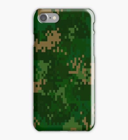 Standard Camo - Digital iPhone Case/Skin