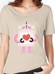 Love Robot Women's Relaxed Fit T-Shirt