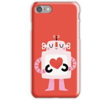 Love Robot iPhone Case/Skin