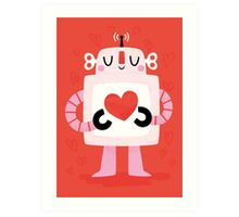 Love Robot Art Print