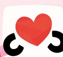 Love Robot Sticker