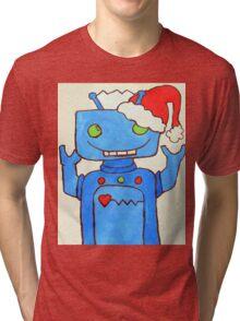 Robo Christmas!  Tri-blend T-Shirt