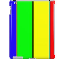.Rainbow Stripes. .11% Tiled. iPad Case/Skin