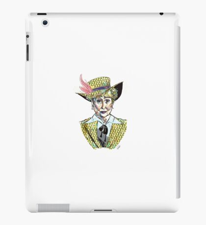 Pimpin' Mrs Hudson iPad Case/Skin