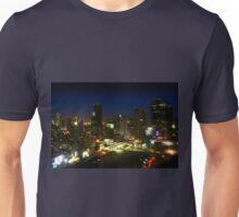 Bangkok by Night - Central Silom District, Thailand Unisex T-Shirt