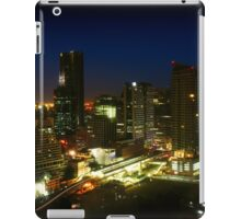 Bangkok by Night - Central Silom District, Thailand iPad Case/Skin