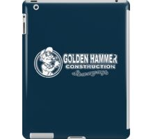 Golden Hammer iPad Case/Skin
