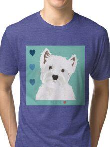 West Highland Terrier Tri-blend T-Shirt