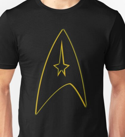 Starfleet Command Yellow Insignia Unisex T-Shirt
