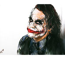 Portrait: Joker's Smile Photographic Print