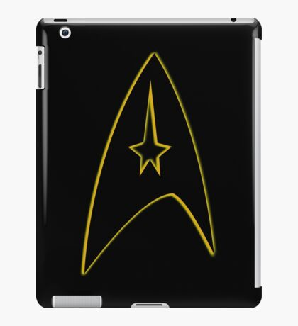 Starfleet Command Yellow Insignia iPad Case/Skin
