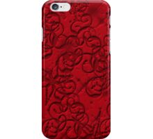 Gothis red  iPhone Case/Skin