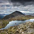 Haystacks Summit English Lake District by Martin Lawrence
