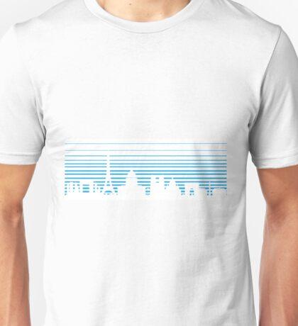 Paris Blue Unisex T-Shirt