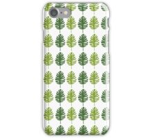 Jungle Leaves  iPhone Case/Skin