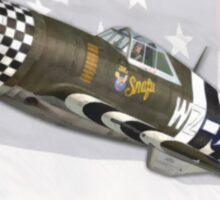 War Eagle / Snafu (Republic P47D Thunderbolt) Sticker