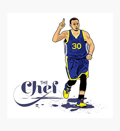 Chef Curry Collection Photographic Print