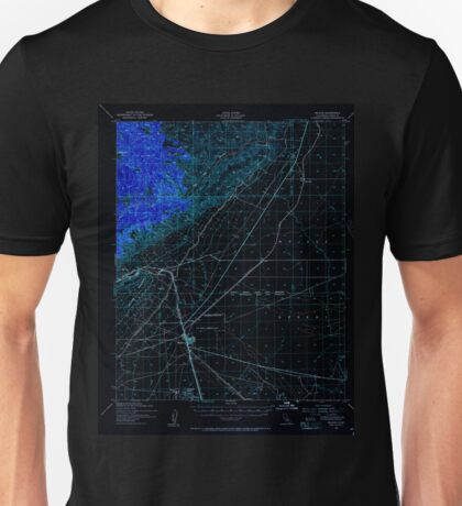 USGS TOPO Map California CA Mojave 298210 1943 62500 geo Inverted Unisex T-Shirt