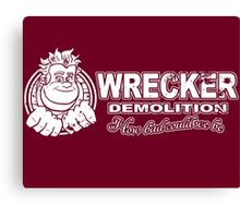 Wrecker Canvas Print