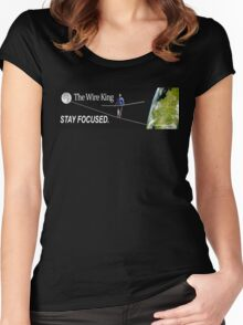 The Wire King Women's Fitted Scoop T-Shirt