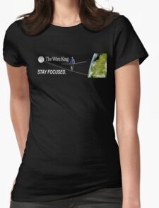 The Wire King Womens Fitted T-Shirt