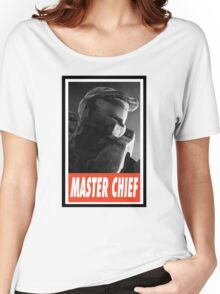 -GEEK- Master Chief Women's Relaxed Fit T-Shirt
